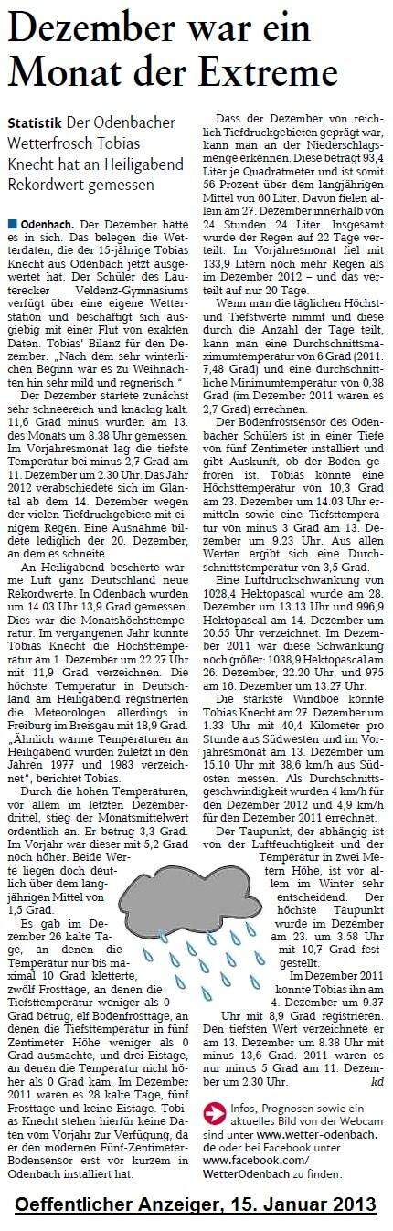 Oeffentlicher Anzeiger 15.01.2013