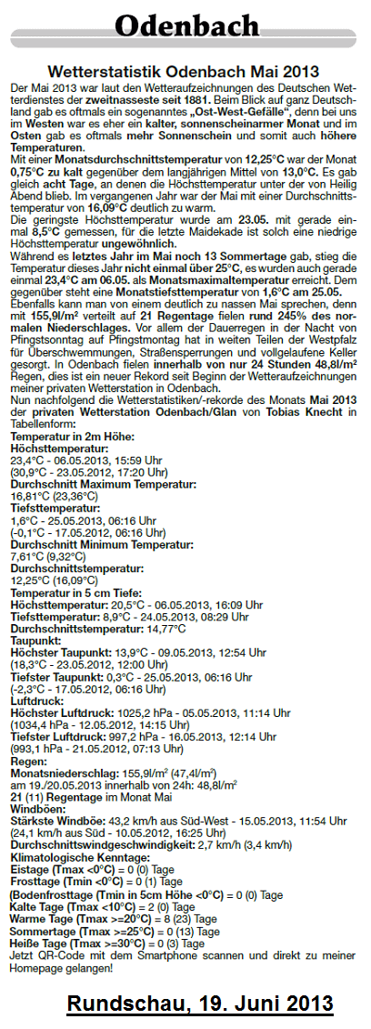 Rundschau 19.06.2013