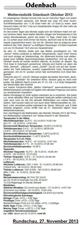 Rundschau 27.11.2013
